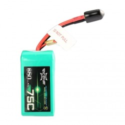 Acehe 4S 650mAh 75C Lipo Battery