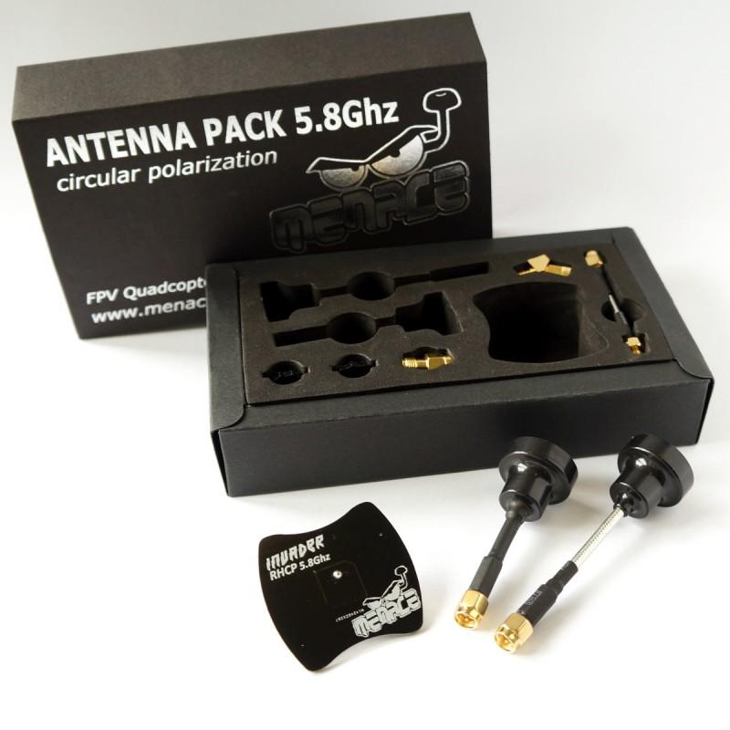 Pack d'antennes polarisées RHCP - Menace