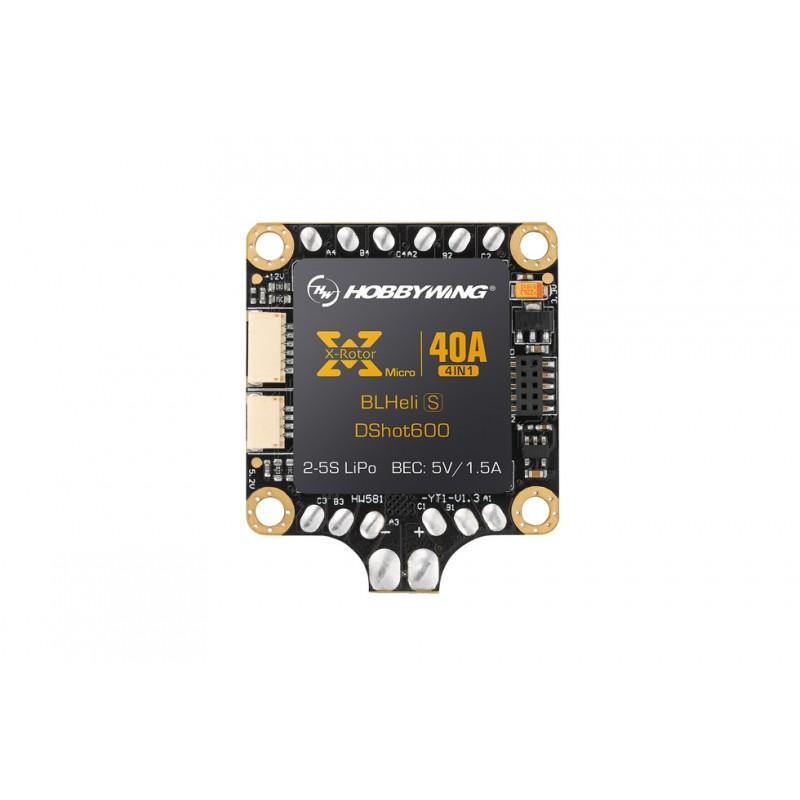 Hobbywing - XRotor Micro 40A 4in1 BLHeli-S DShot600