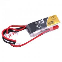 Batterie Lipo Tattu 2S 300mAh 45C - JST