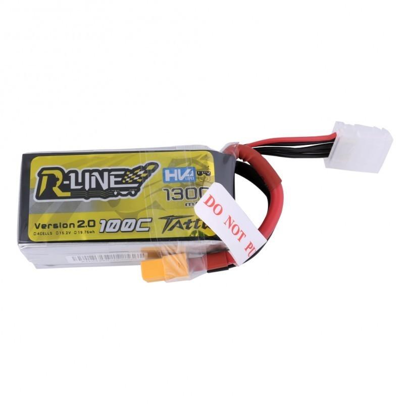 Batterie Lipo Tattu R-Line HV 4S 1300mAh 100C