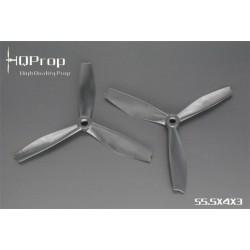 HQProp DPS 5.5X43X3 - PC - (2x CW + 2xCCW)
