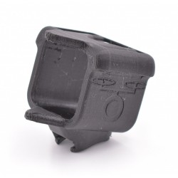 Support GoPro Session pour Rail + Front Protect - TPU by DFR