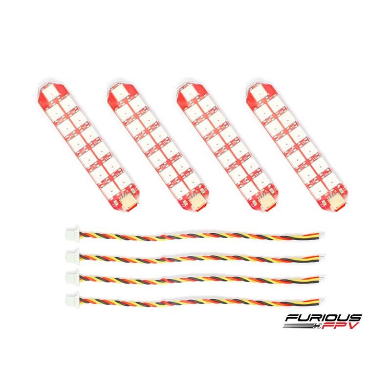 FuriousFPV Duo Row LED Strip x4
