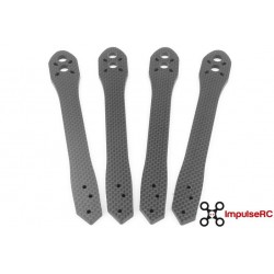 "Alien 7"" Arm - Set de 4 -CF 4mm de ImpulseRC"