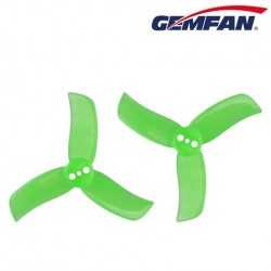 GEMFAN 2040 - 3 trous - Polycarbonate - 8pcs