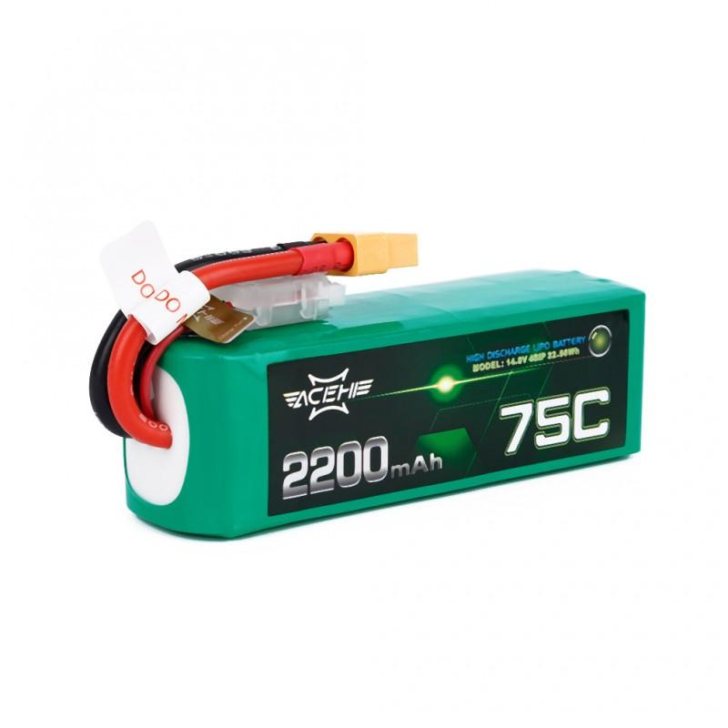 Batterie Lipo Acehe 4S 2200mAh 75C