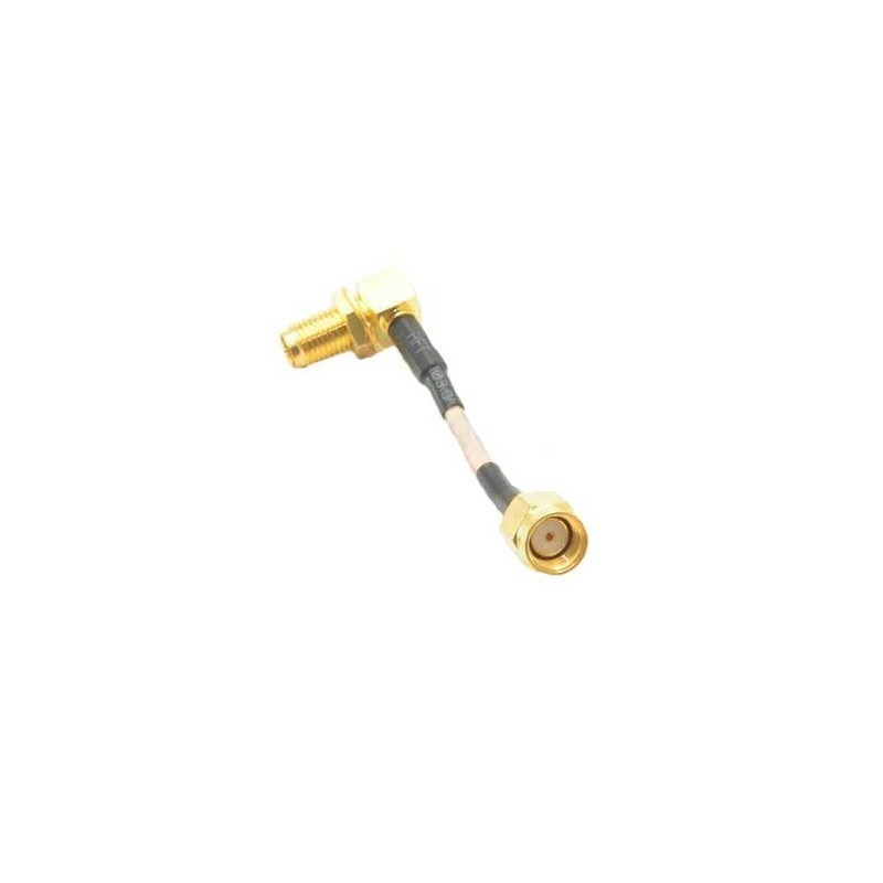 RG316 Extension Cable 50mm 90 ° - RP-SMA