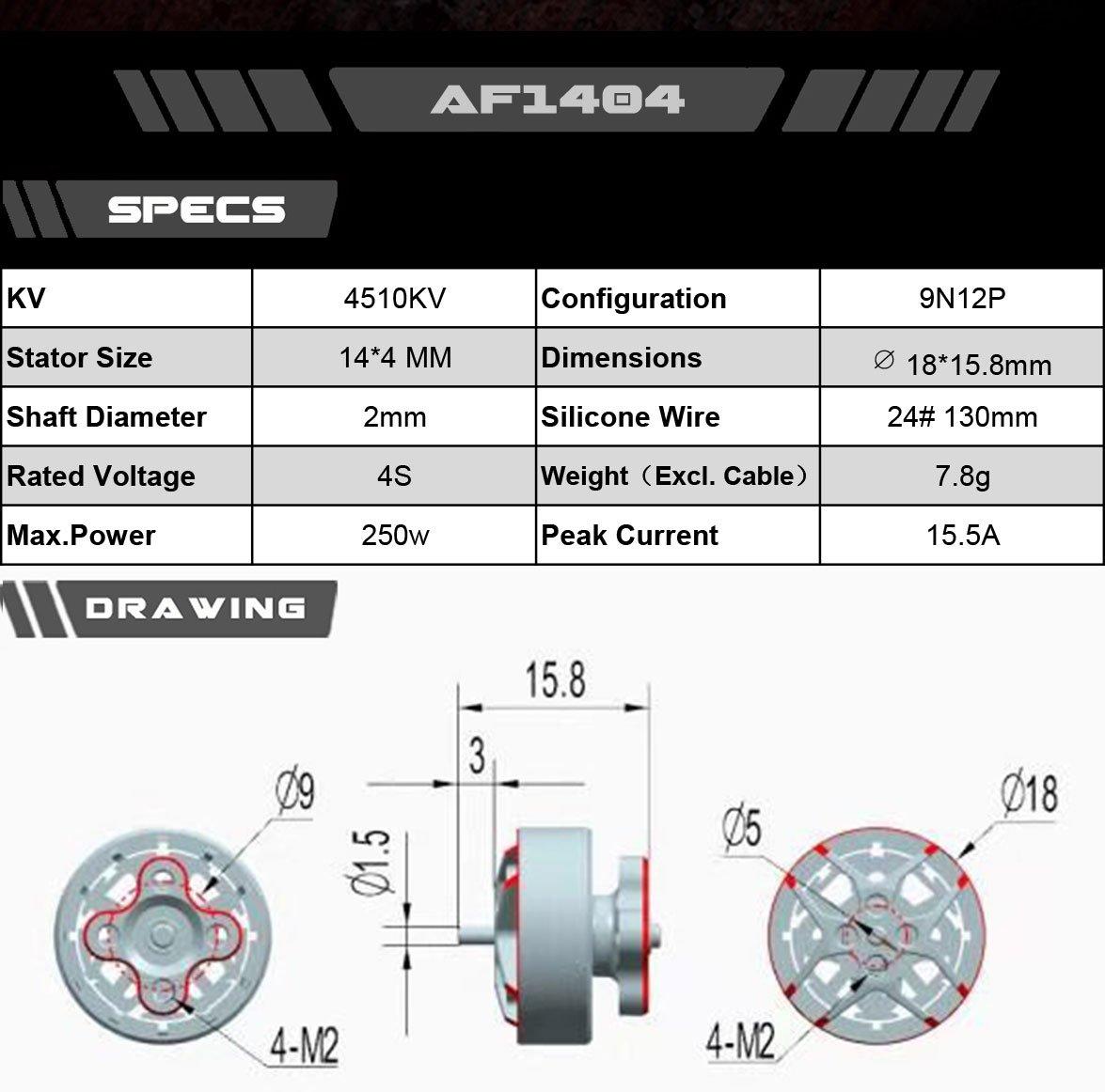 AXIS Flying AF144 - 4510KV
