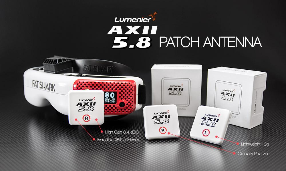 lumenier AXII patch